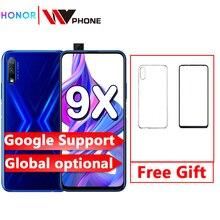 Honor 9x смартфон kirin 810 6,59 дюймов, полный экран, 48 МП, две камеры, 4000 мАч, GPU Turbo, мобильный телефон