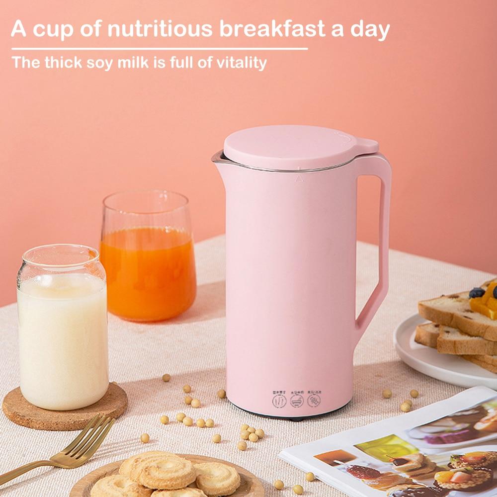 Portable Blender  Automatic Soy Milk Machine Mini Fruit Maker Juicer Vegetable Extractor Food Blender Filter Free For Soybean
