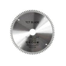 80 dents TCT lame de scie circulaire disques de roue TCT alliage bois lame de scie multifonctionnelle pour la coupe du bois métal