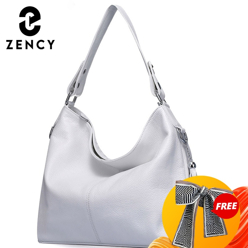 2021 New Fashion Soft Real Genuine Leather Tassel Women's Handbag Elegant Ladies Hobo Crossbody Shoulder Bags Bucket Shopper
