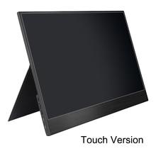 15.6 인치 홈 게임 휴대용 모니터 휴대 USB-C 노트북 PC 미니 컴퓨터 디스플레이 범용 풀 HD 제로 프레임 IPS 스크린