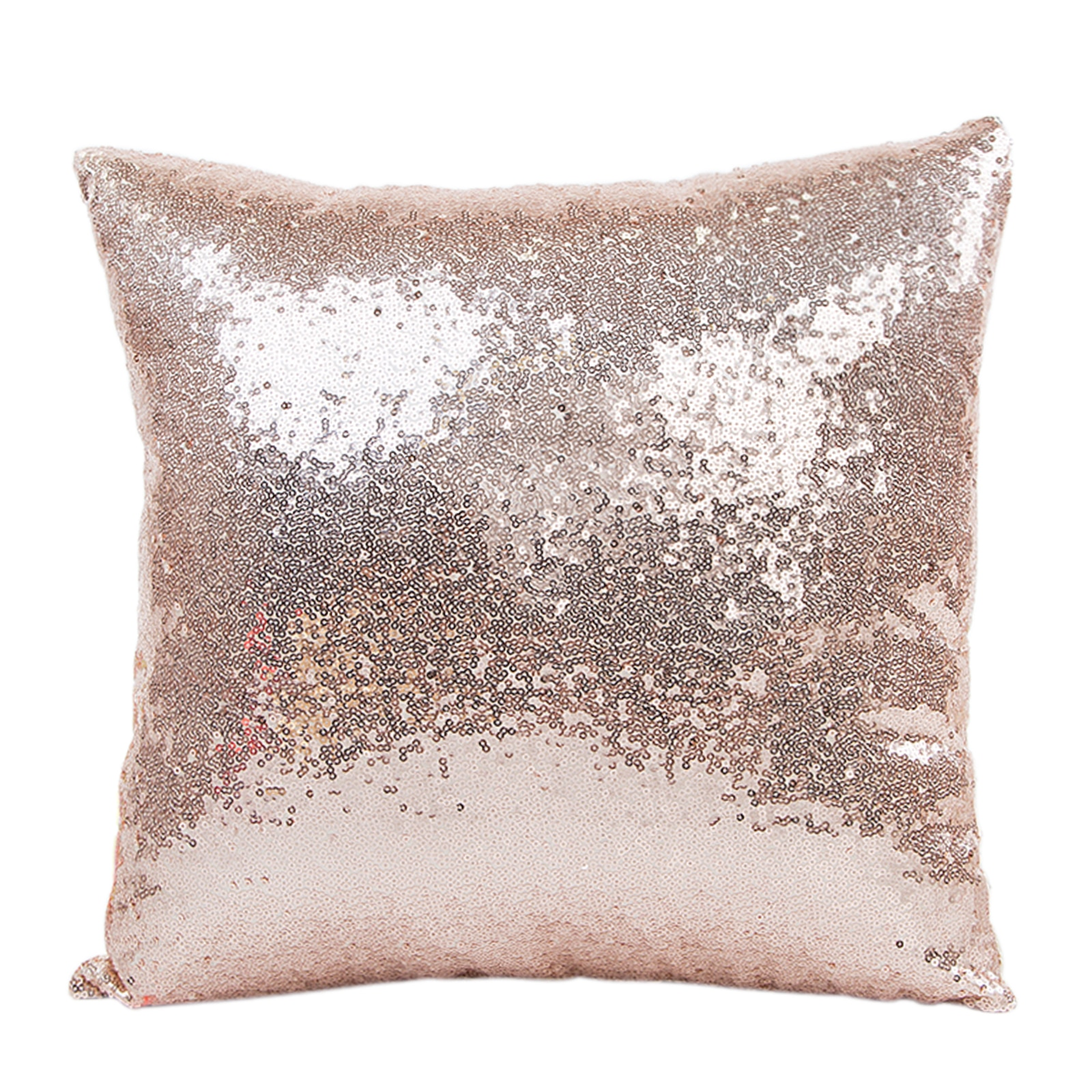 Solid Color Glitter Sequin Cushion Cover Pillowcase Christmas Wedding Party Cafe Home Sofa Seat Bed Throw Pillow Cover Supply 2019 christmas throw pillow covers santa clause 0utdoor pillow decorations for home sofa bed pillowcase xmas party kids gift