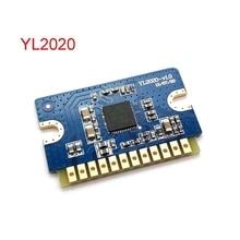 2x20W 12V 24V Mini Stereo Audio Amplifier Board YL2020 V1.0 Dual Channel Class D AMP Module