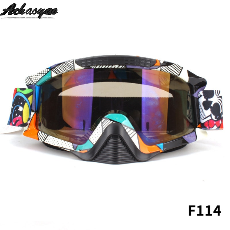 Motosiklet gözlüğü gözlük okulary google bisiklet kaskları gafas spor Gafas motosiklet kir bisiklet yarış Moto óculos vasos poc