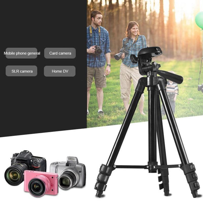 Trípode de aluminio ligero para cámaras Canon Nikon Sony Sigma Fuji Panasonic JVC Samsung SP99