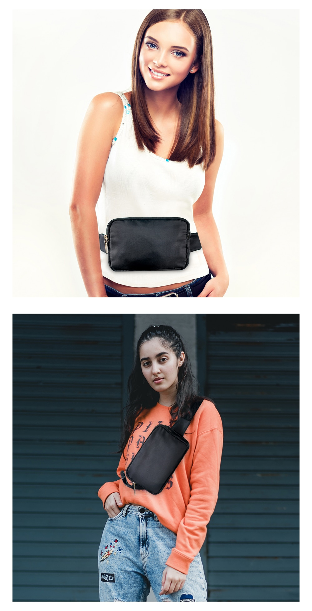 pacote cintura moda fanny pacote crossbody saco