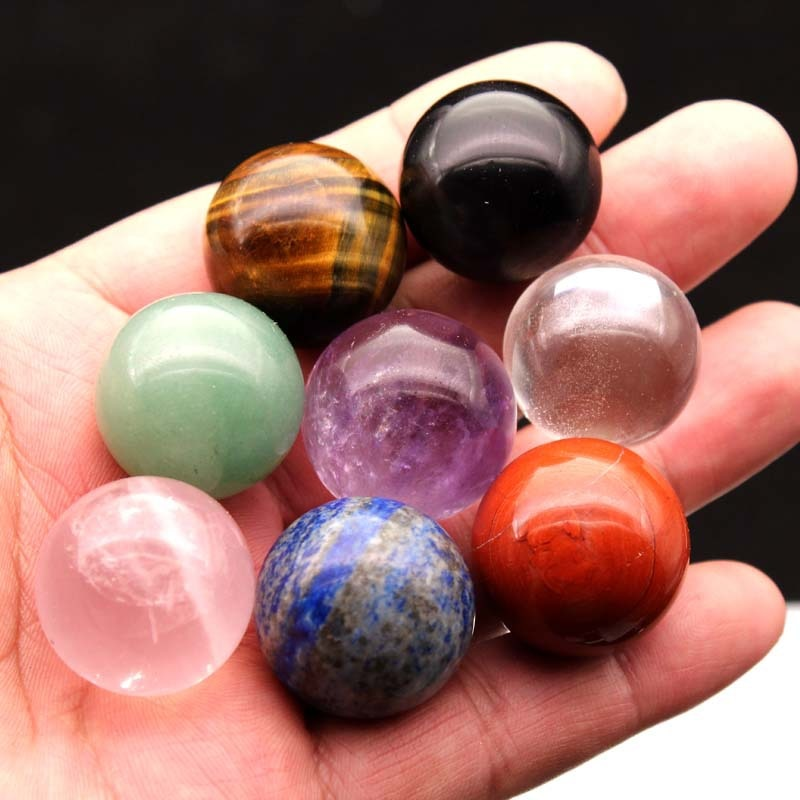 AliExpress - Crystal Ball Energy Polished Reiki Healing 20mm-30mm Stones Crystals Healing Stones Natural Stones and Minerals Decorative