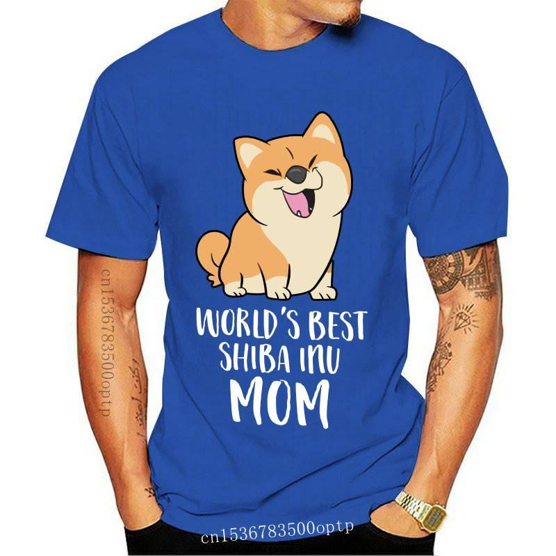 Shiba Inu Tee Shirt Funny Short Sleeve 100 Percent Cotton T Shirt Classic Print T-Shirt Big Male