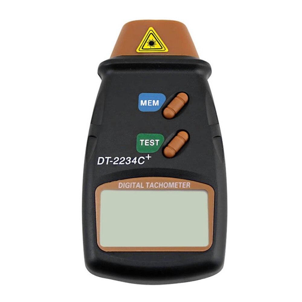 Herramienta de diagnóstico láser Digital tacómetro metros RPM no contacto Motor torno de medidor de velocidad de revolución girar Venta caliente 2017