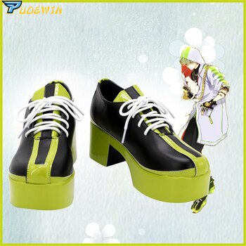 Anime Paradox Live Masaki Hokusai Cosplay Shoes Boots