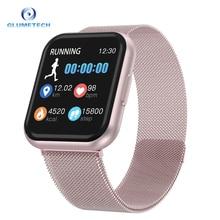 T88 Smart Watch Fashion Man Smart Watch Woman Fitness Tracker Heart Rate Monitor Full Screen Touch Smart Bracelet PK P80 P68 P80