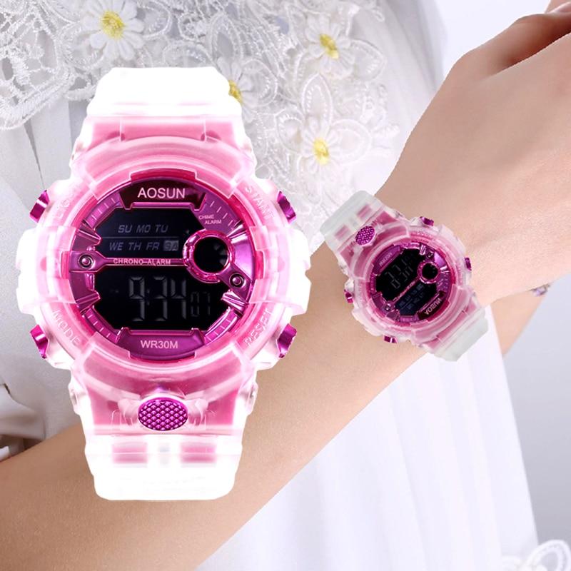 Waterproof Children Sport Watch for Girls Boys Teens Kid Women Digital Electronic Clocks Wristwatch