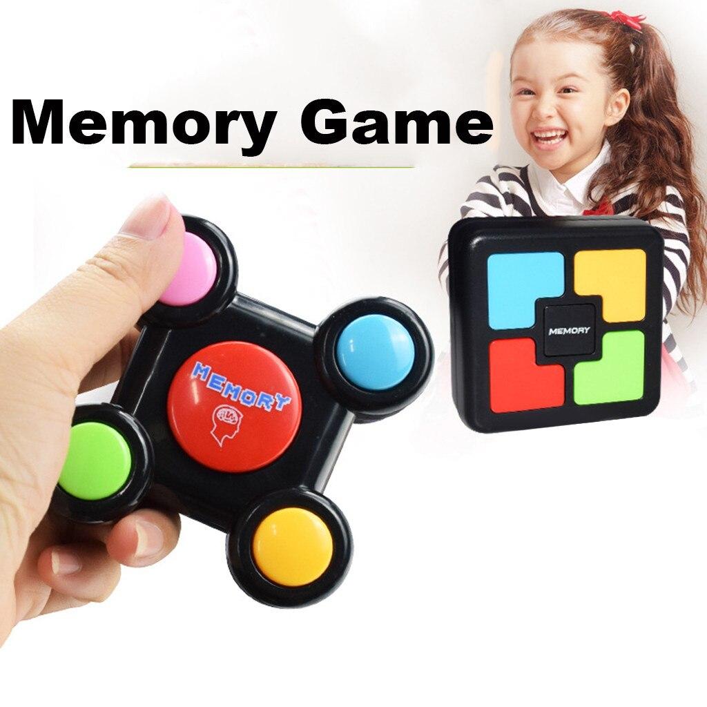 Siga meu movimento luz e som jogo de memória com luzes e sons brinquedo quiz jogo montessori toddlers bebê cor educacional jogo