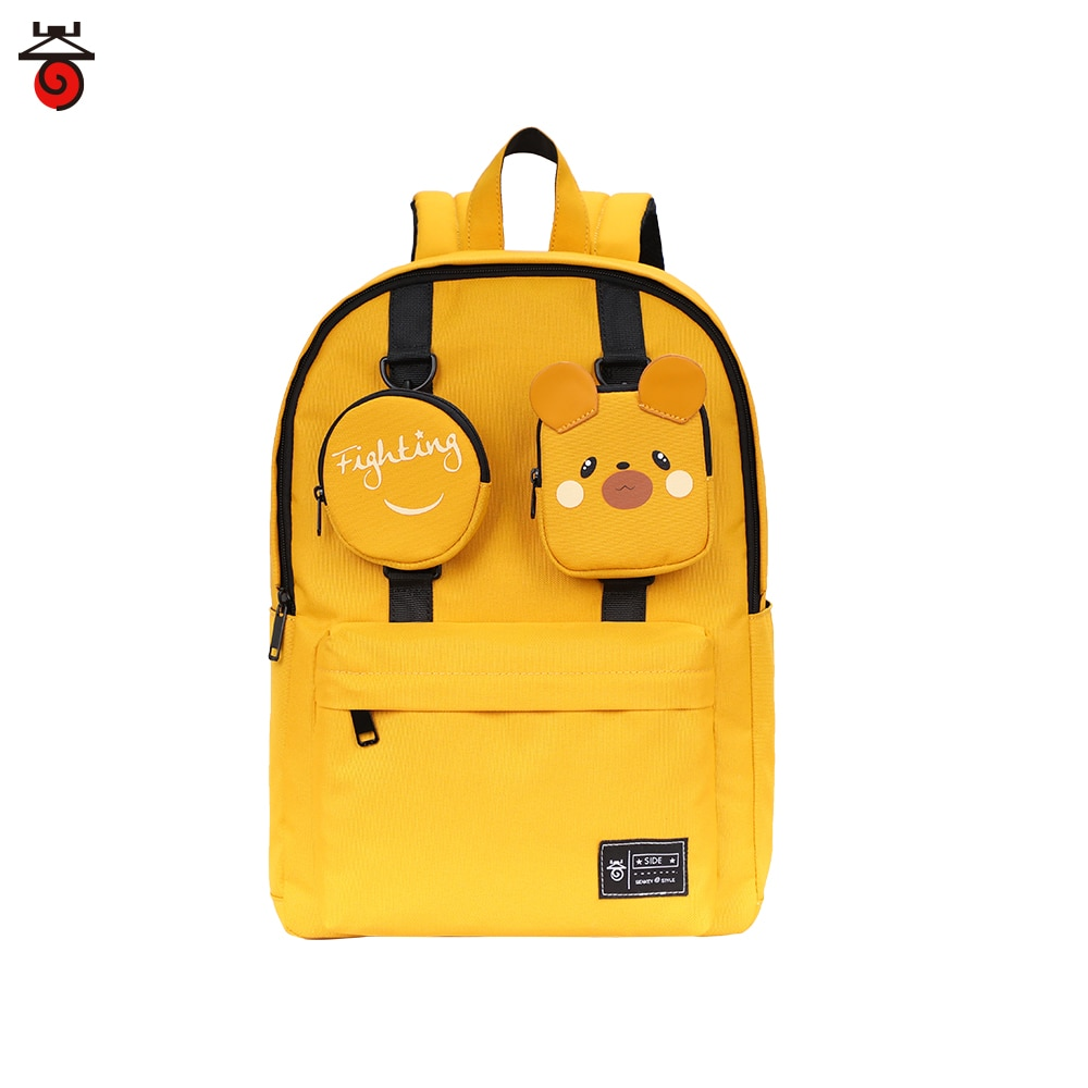 New Female Backpack Waterproof Women Removable Small Pocket Fashion Casual Teenager Girl School Bags