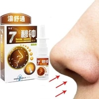 20ml spray nasal cure rhinitis sinusitis nose spray bottle chinese traditional medical herb anti snore apparatus health care