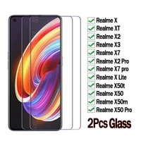 for realme x50t x50m x50 x xt x3 x2 x7 pro lite front screen protector film glass for realme x 2 3 5 t 50 50m 50t 7 pro cover