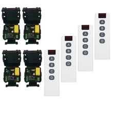 RF mini Wireless Remote Control switch AC 220 V 1 channel 10A Receiver  transmitter Street lamp/wardrobe lighting power on