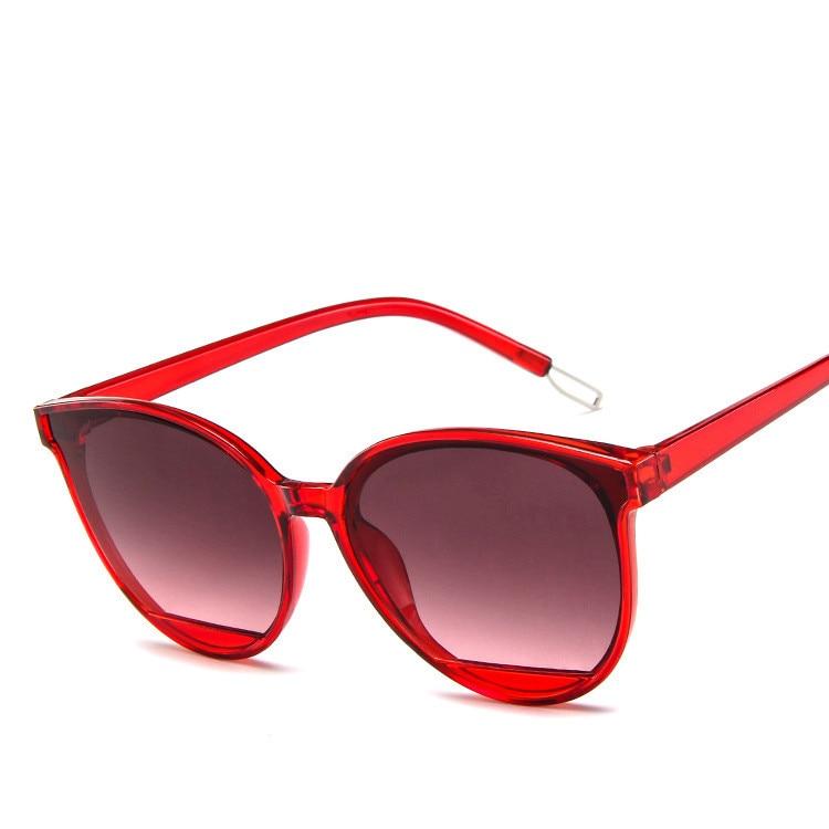 Модные круглые женские солнцезащитные очки Higodoy, солнцезащитные очки большого размера в стиле ретро, мужские пластиковые очки, солнцезащит...