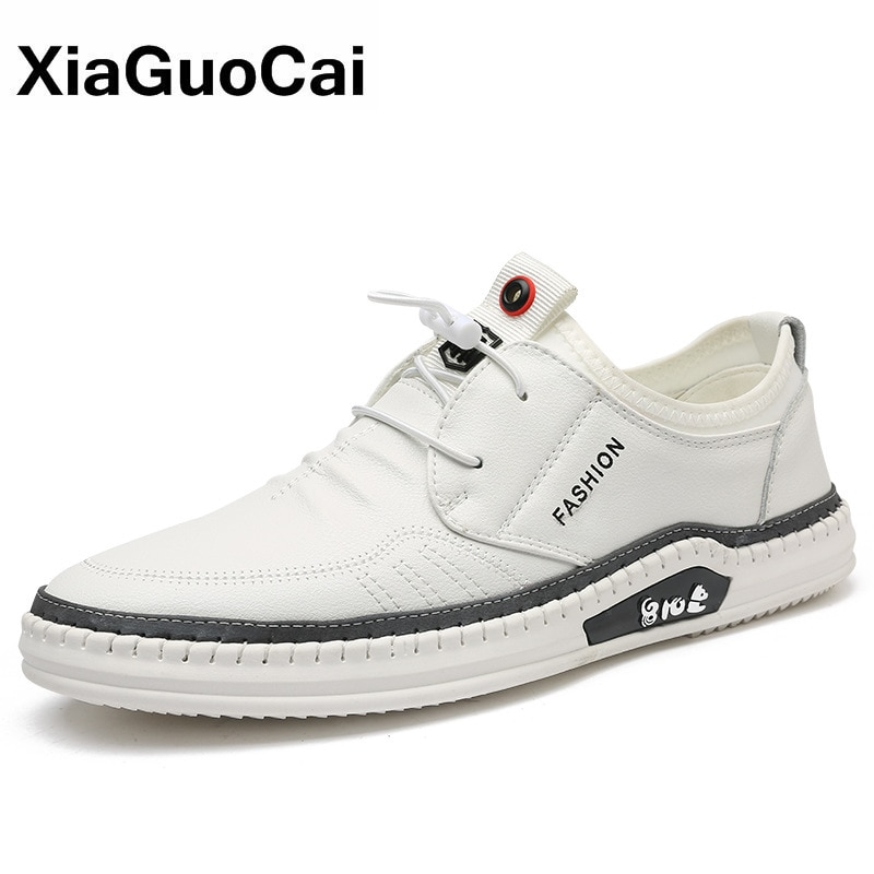 Spring Autumn Men Shoes Casual Breathable Flat Male Footwear Microfiber Leather Soft Fashion Man's Casual Shoes Hot Sale Newest clax men shoes genuine leather spring autumn casual shoe male leather shoe walking footwear soft black fashion