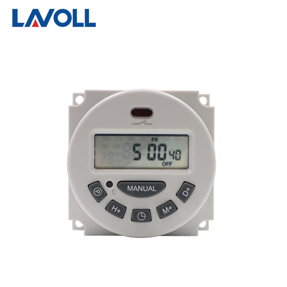 Программируемый таймер на 7 дней 12 В цифровой 220 В|rele temporizador|switch relaytime switch relay |