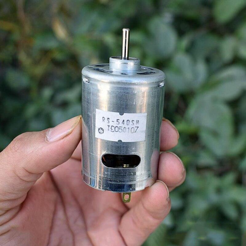 Motor de RS-540SH-8017 cc 5V 6V 7,4 V 22800RPM de alta potencia MABUCHI, alto par RS-540 para taladro eléctrico, modelo de juguete de herramienta de jardín