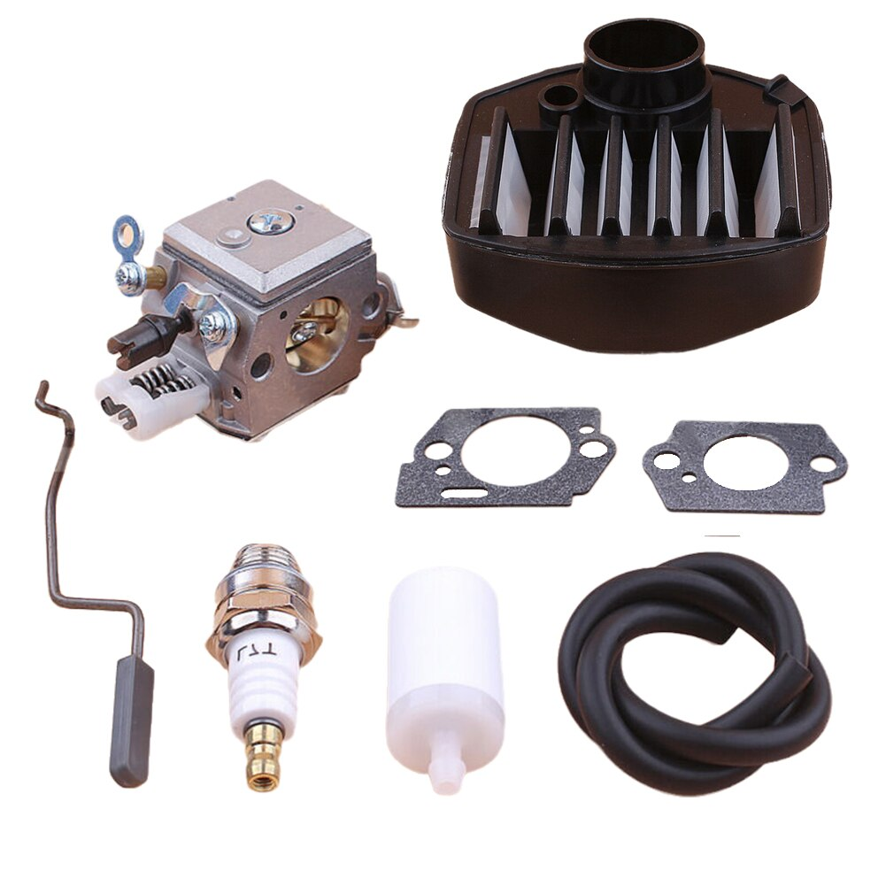 Фото - Carburetor Air Fuel Filter Rod Kit For Jonsered CS2156 CS2159 2156 2159 Replace Zama Carb For C3-EL42 Chainsaw Parts Accessories cylinder piston air fuel filter gas line kit for jonsered cs 2159 cs 2156 cs2159 cs2156 epa chainsaw 47mm big bore port nikasil