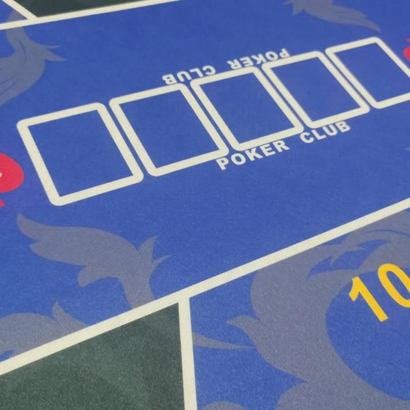 Техасская покерная скатерть, набор для покера в казино, коврик для настольных игр, Настольный коврик для домашних игр, аксессуары для покера-2