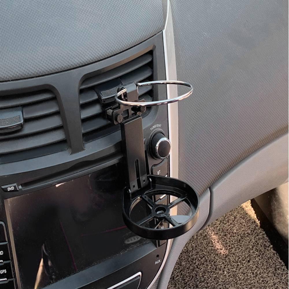 1 шт. Автомобильный держатель для напитков автомобильный органайзер для кофе и напитков пластиковый складной держатель для напитков автомо...