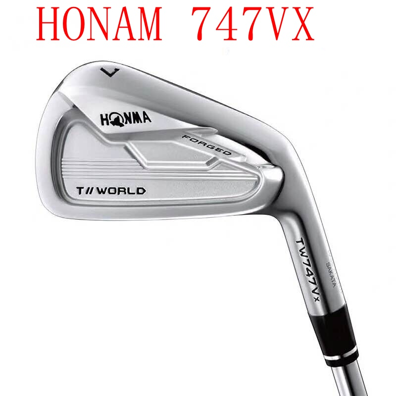 Honma Golf Club Honma TW747VX Irons Honma747VX Golf Irons Set 4-11 R/S Flex Shaft with Head Set