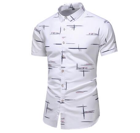Moda 3 estilo design casual camisa de manga curta impressão masculina praia blusa 2020 roupas verão mais asiático tamanho M-XXXL 4xl 5xl
