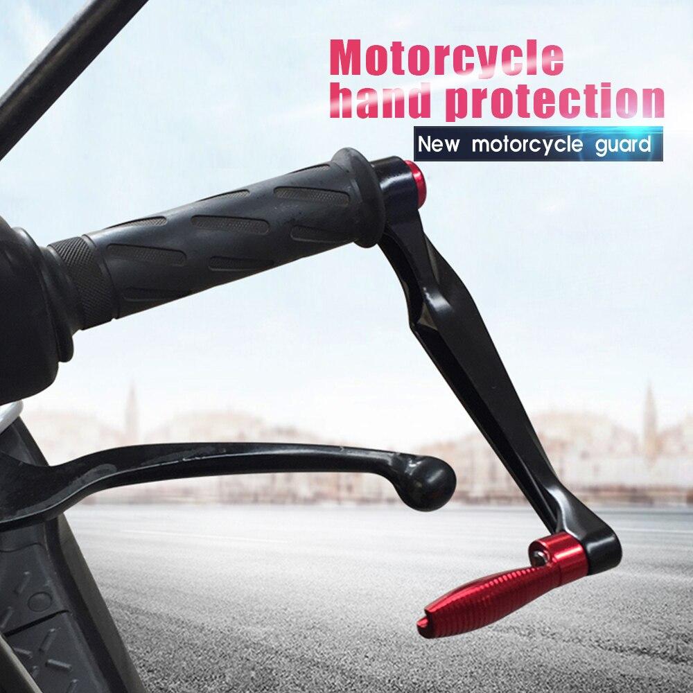 Protectores de manos universales de aluminio para motocicleta Motocross dirt bike para aprilia shiver 900 suzuki rm125 yamaha fz1 fazer