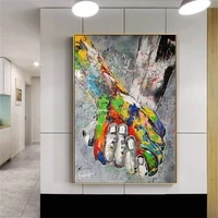 paintings for interior modern fashion wall art pop art pictures for living room frameless abstract poster printings