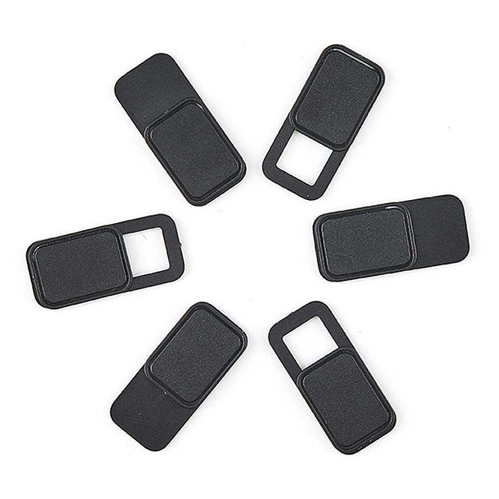 6Pcs WebCam Cover Shutter Slider Plastic Camera Cover For IPad Phone PC Laptop Lens Privacy Sticker
