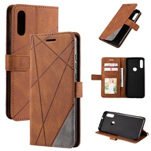 Wallet Flip Leather Phone Case For Bag Xiaomi Redmi Note 10 Pro 10S 10X K40 K20 Pro Rhombus Stripe B