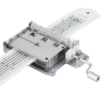 30 note tape hand crank mechanical musical box movement hole puncher 20 blank strip tapes for diy hand cranked music box