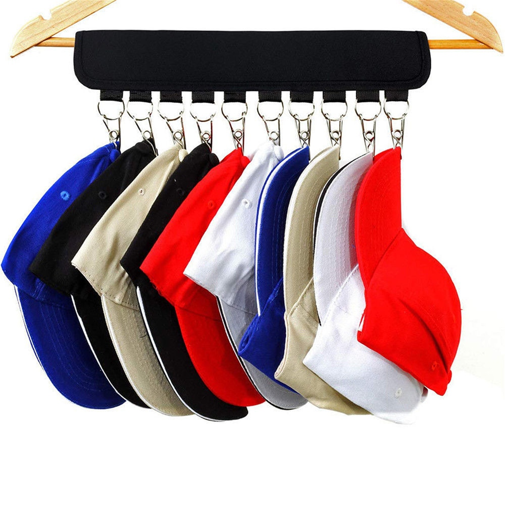 Органайзер для шляп, держатель, стойка для бейсболок, Домашний Органайзер, настенная дверная вешалка, держатель, вешалка для шкафа, кухонная...