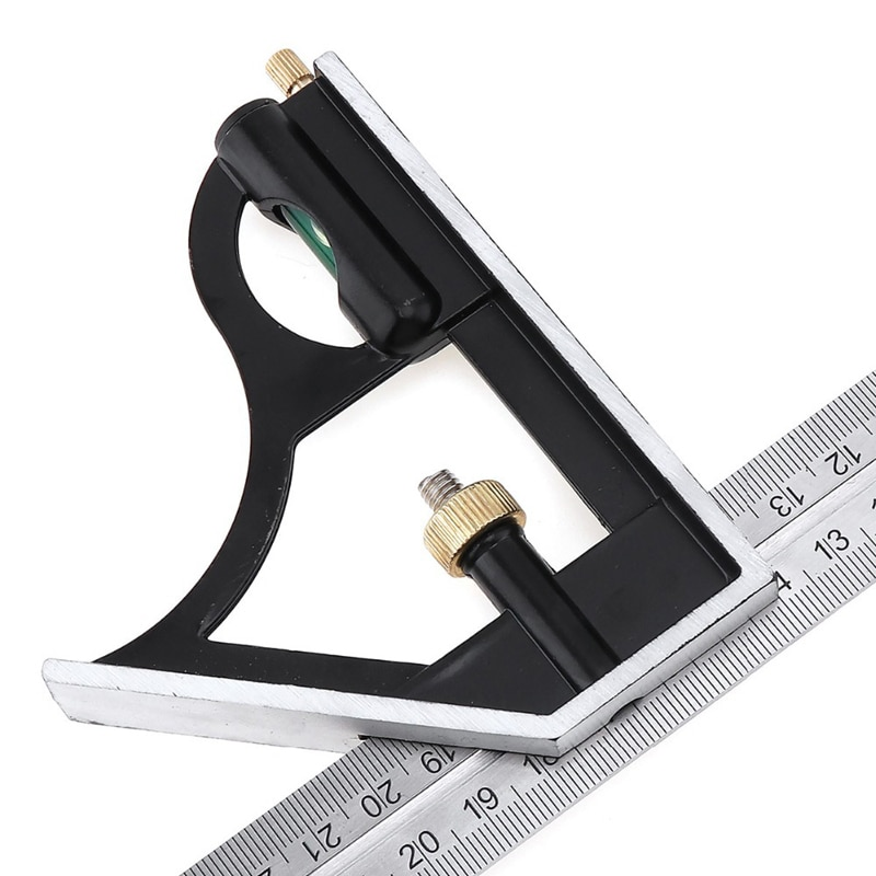 1pcs 300mm High Precision Protractor Multi-function Professional Tools Combination Square Angle Ruler Carpenter Measuring Tool#2