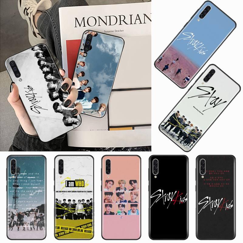 Stray kids, carcasa de teléfono DIY para grupo de chicos coreanos, carcasa para Samsung Galaxy A 3, 6, 7, 8, 10, 20, 30, 40, 50, 70, 71, 10S, 20S, 30S, 50S PLUS