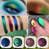 mashed potatoes eye shadow metal chameleon makeup palette shimmer pigment single color eye shadow shine diamond shadow makeup