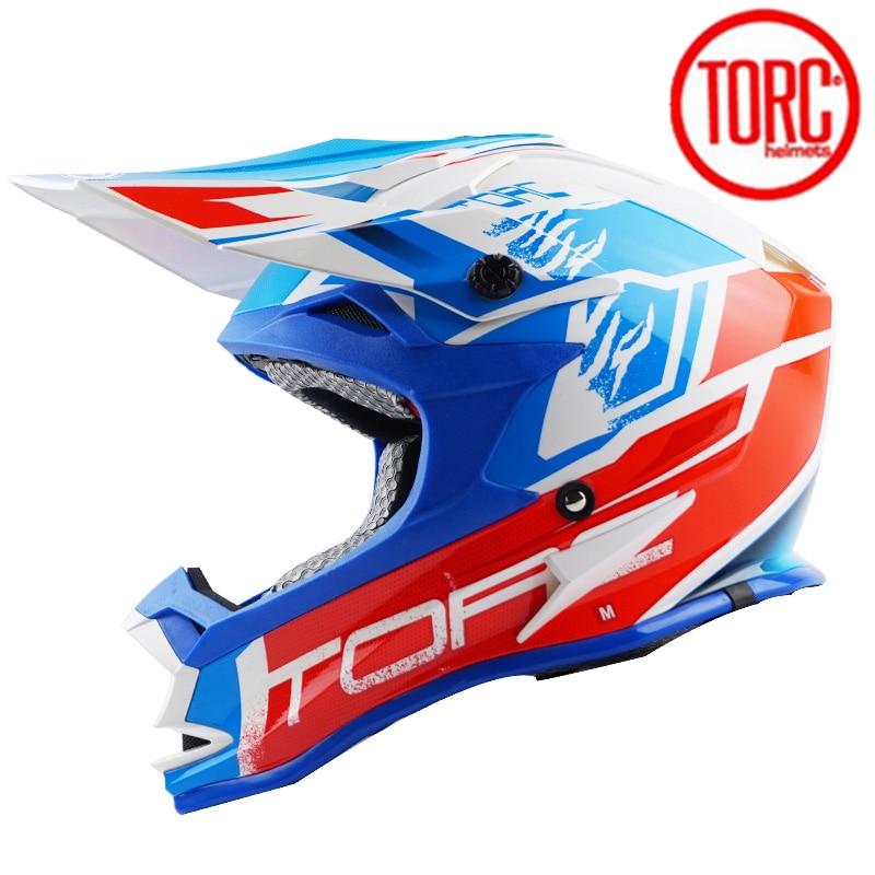 TORC T321 carreras profesionales moto Cruz Casque Retro carretera Casque moto capacete moto Casco hombre casco moto Cruz con gafas