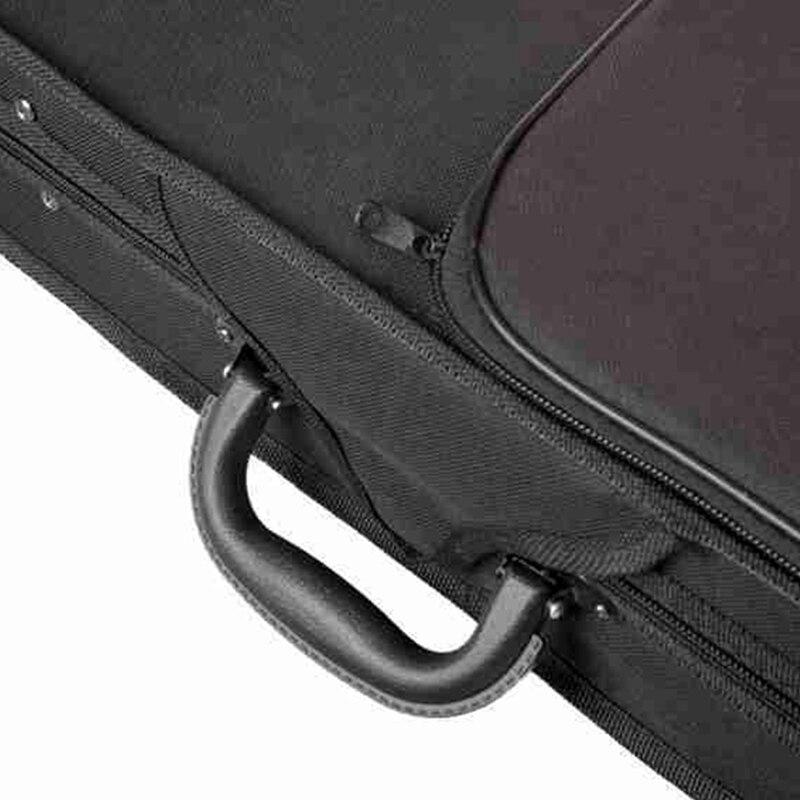 Violin Case Professional Triangular Shape Violin Hard Case Yellow Inside Violin Parts enlarge