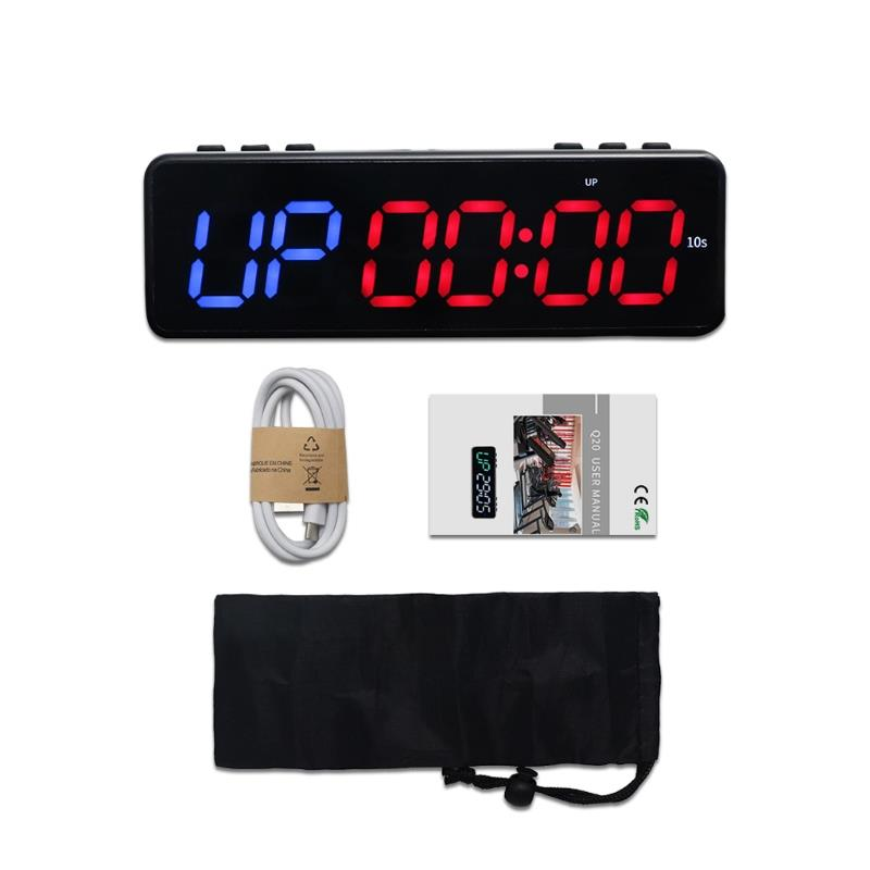 APP exercise timer Wireless Bluetooth Control Timer Stopwatch Led Fitness Timer Training Gym Timer Sport time meter
