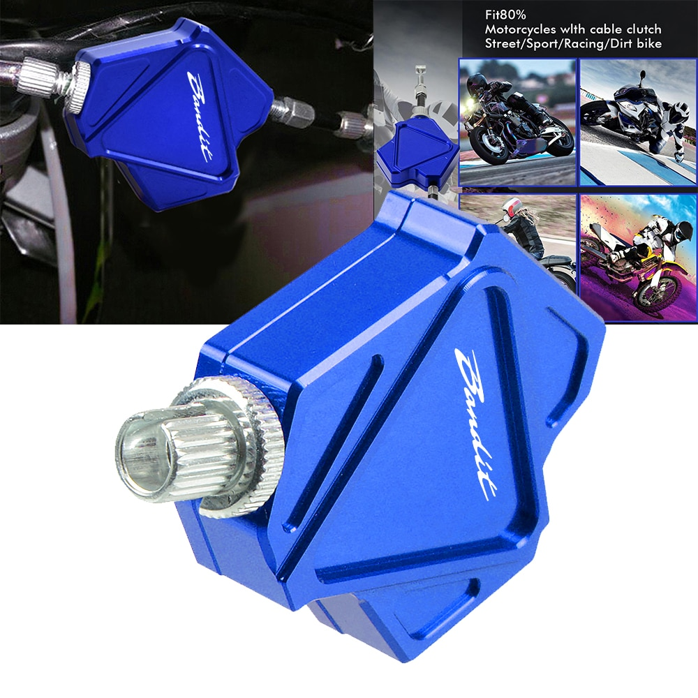 For SUZUKI GSF650 BANDIT GSF650 S BANDIT GSF650 N BANDIT GSF 650 Motorcycle Accessories CNC Easy Pull Stunt Clutch Lever System