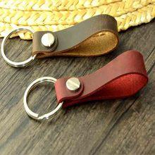 Lanyard For Phone leather Wrist Strap Hand Mobile Phone Straps  for mobile phone keys work card holder camera Metal Car Key Ring