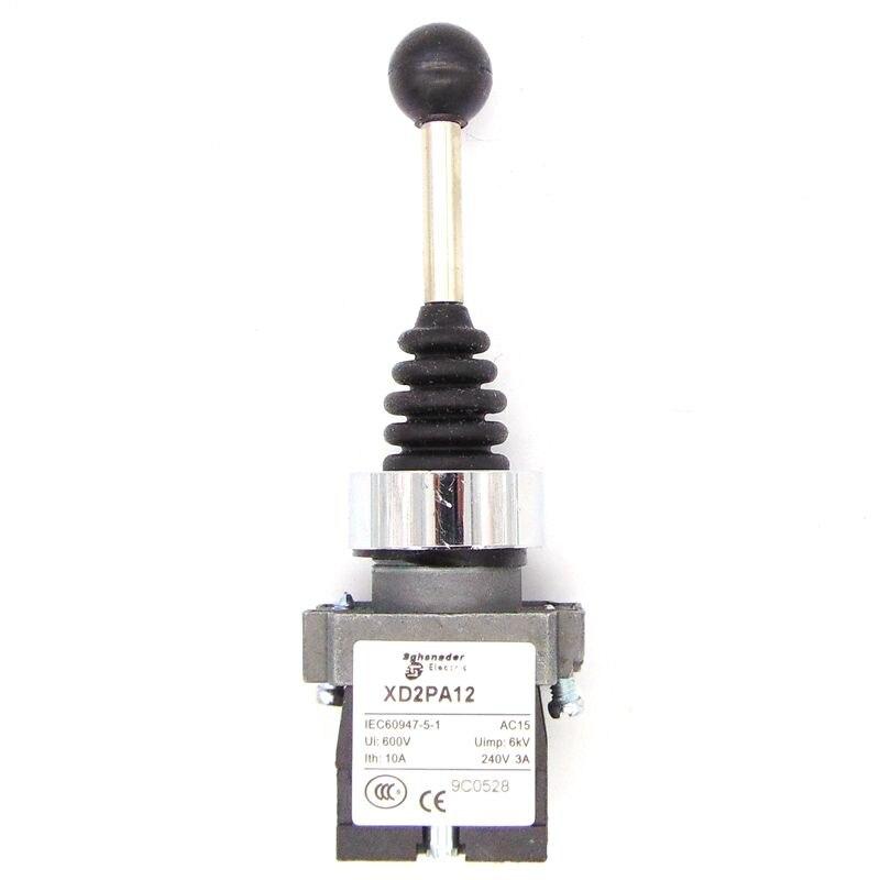 Джойстик-контроллер для XD2-PA12, пружинный Джойстик-переключатель, поворотные переключатели для самостоятельной блокировки XD2-PA12CR