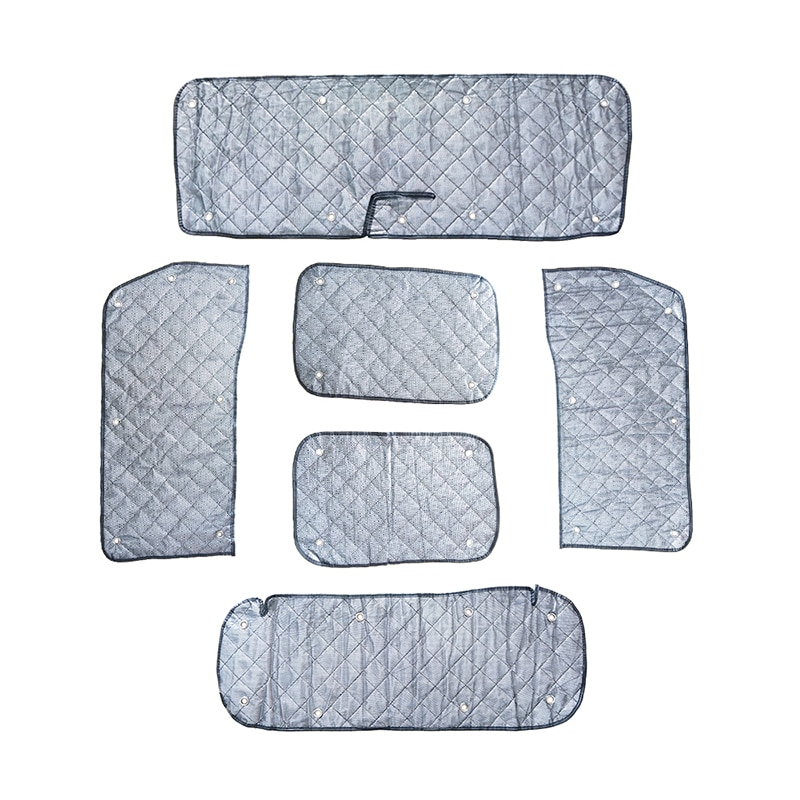 Windshield Sunshade Kit for Suzuki Jimny JB64 JB74 2018-2020 Anti-UV Car Windshield Sunshades Curtain Sun Block Sun Visor Cover