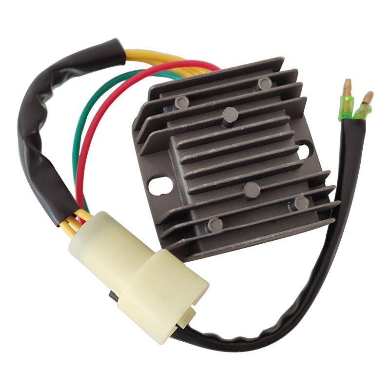 R2043.0 Voltage Regulator Motorcycle Rectifier FITS For HONDA 300 TRX300 Fourtrax 1993-2000 Ignition Black DC 12V