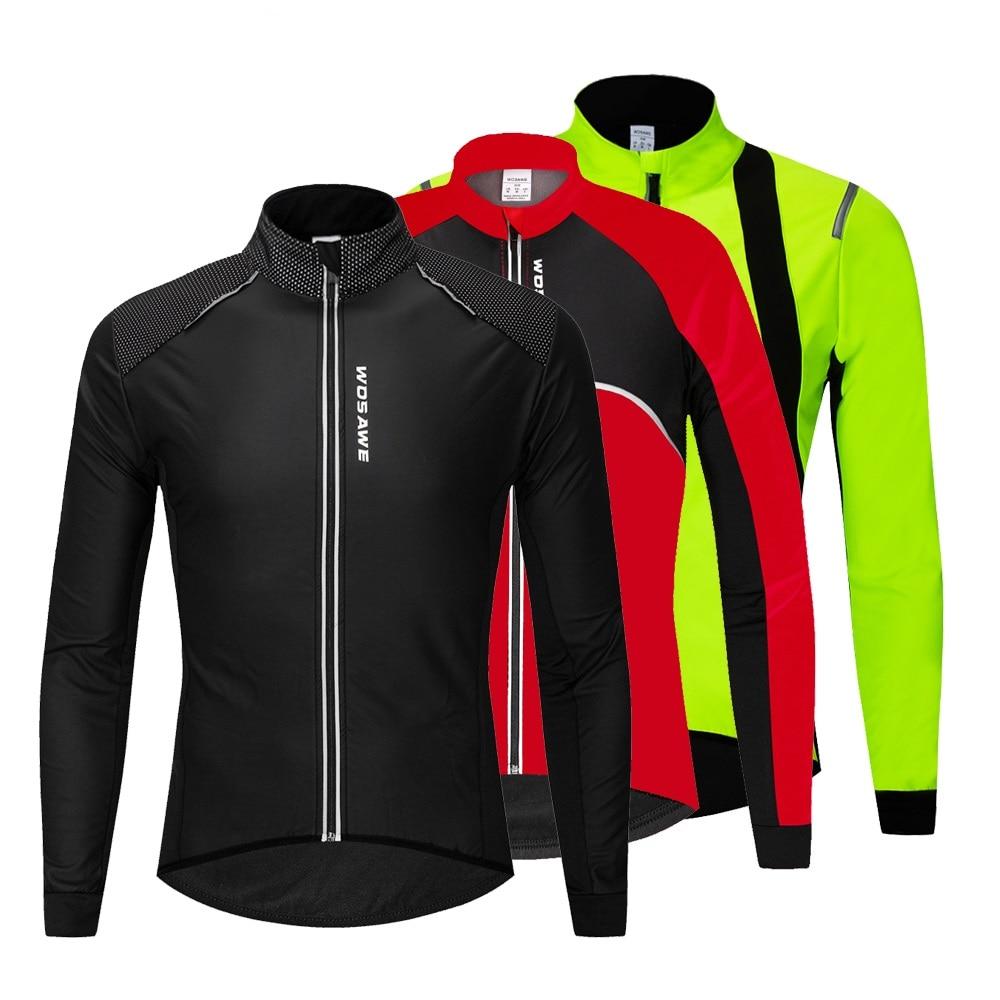Velo térmico ciclismo jaqueta inverno bicicleta windbreaker mtb ciclo poliéster windcoat à prova de vento das mulheres dos homens manter quente jaqueta de bicicleta