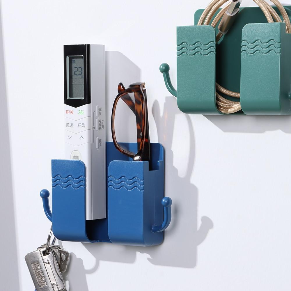 Organizador de carga de teléfono, caja de almacenamiento montada en la pared,...