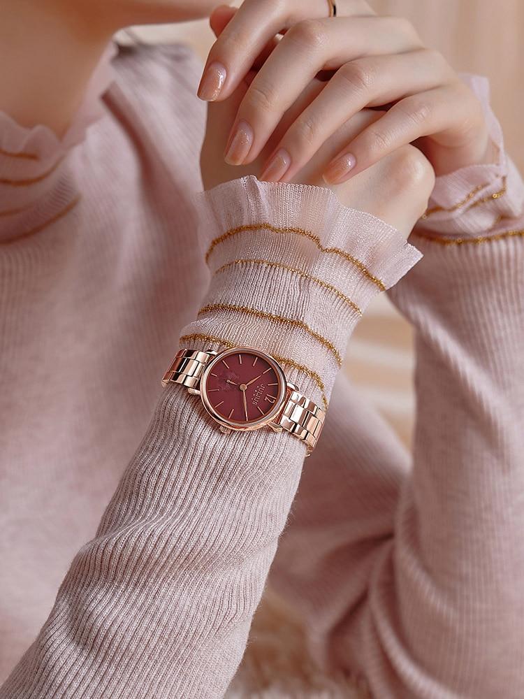 Julius Women's Watch Stainless Steel Bracelet Luxury Fashion Dress Ladies Wrist Female Clock Japan Quartz Julius Box enlarge